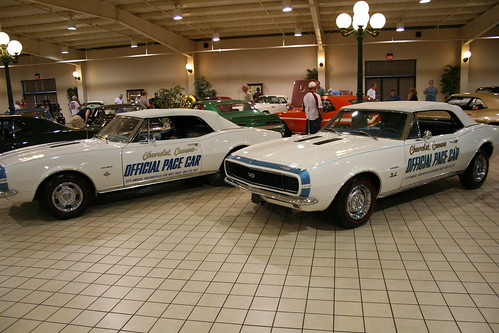 Camaro Pace Cars 350 and 396