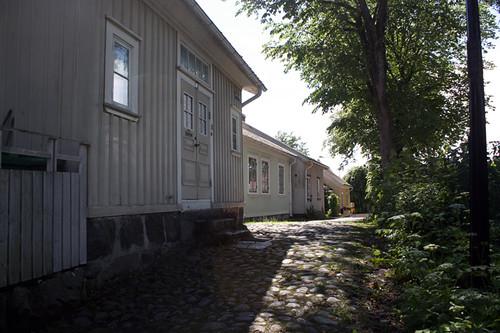 Gamla hus i Uddevalla