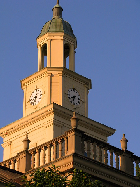 Lincoln County Courthouse A: Clock Tower
