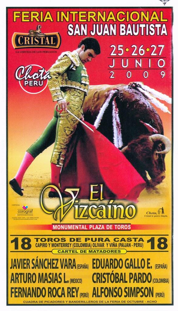 Cartel de Chota 2009