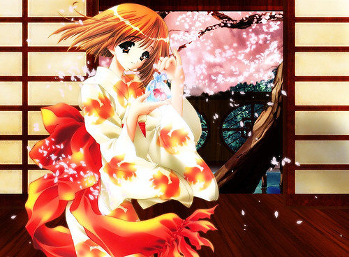 cute anime kimono. Anime kimono girl
