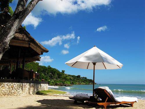 金色陽光海灘碧海藍天白雲 Bali Island 巴里島.峇里島.巴厘島.峇厘島.