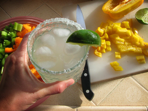 a little margarita helps keep things interesting