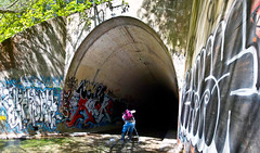 OMR (everydaydude) Tags: graffiti tunnel funkandjazz tbi zenphonik
