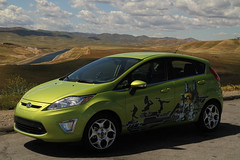The new 2011 Ford Fiesta Point Vista, CA