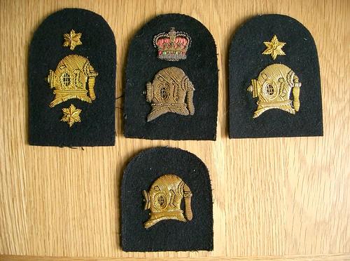 Divers Badges - British & Commonwealth Military Badge Forum