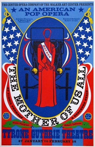 The Mother of Us All 1967 Robert Indiana