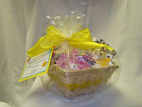 Scrapbooking Gift Basket