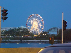 Navy Pier Lights (Outsanity Photos) Tags: wheel night lights random snapshot ferris lakeshoredrive lsd navypier outsanity