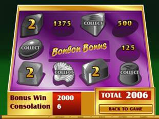 free Chocolate Factory gamble bonus game