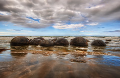 The Mysterious Moraki Boulders (Stuck in Customs) Tags: travel newzealand