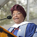 Ellen Johnson Sirleaf: avoid complacency
