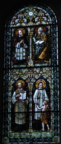 St. Francis de Sales, St. Alphonsis Ligori, St. Ignatius Loyola, St. Vincent de Paul