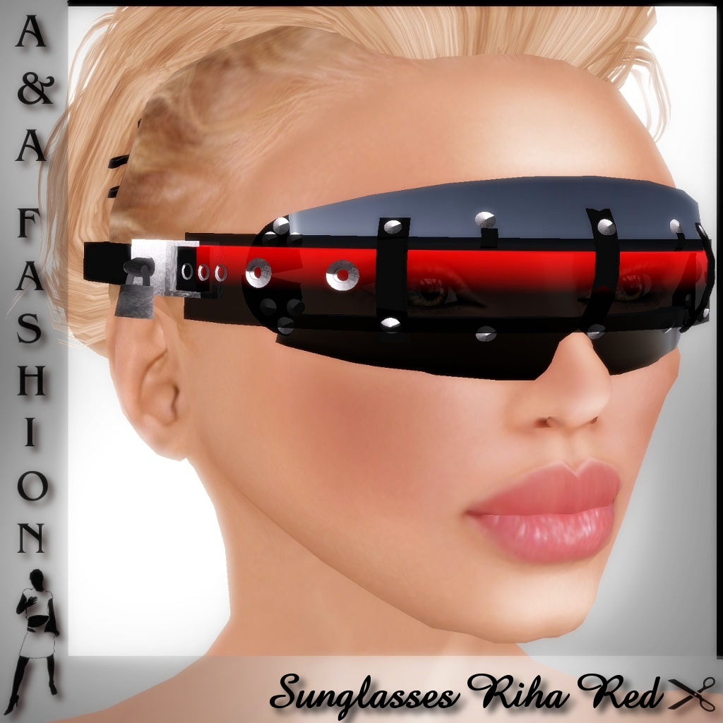 A&A Fashion Sunglasses Red