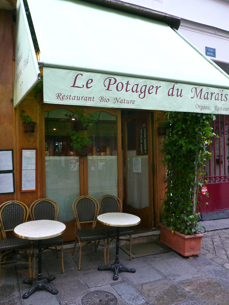Rue Rambuteau Restaurant Bio