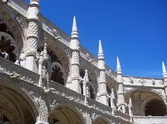 Vista parcial del Claustro,Monasterio de Los Jernimos,Lisboa (Pedro y Sergio) Tags: portugal europa europe l