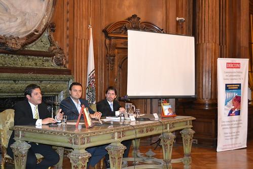 Juan José Larrea, Daniel Ivoskus, Augusto Erbin