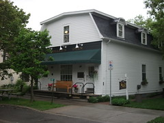 Manotick, Ontario (Dougtone) Tags: house ontario canada mill church river memorial ottawa manotick 052911