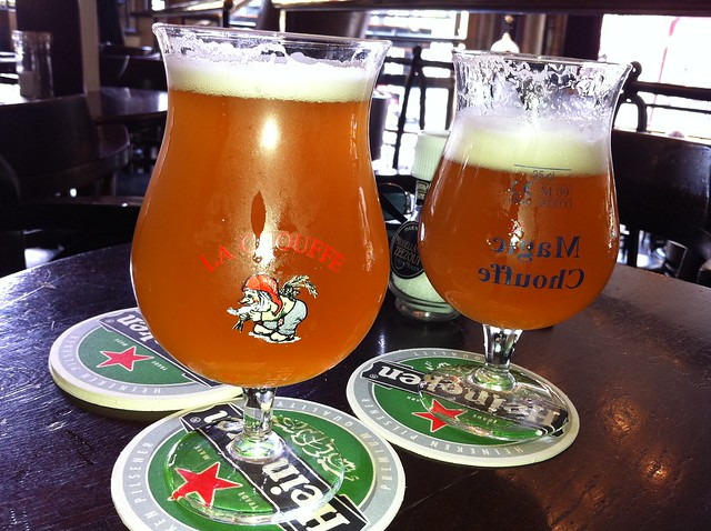 Belgian Beer in Amsterdam