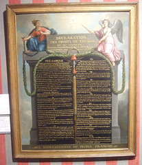 Human Rights declaration of 1789
