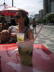 More caipirinhas on the beach!