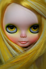 Camomile Fairy (erregiro) Tags: sky flower nose doll feel makeup lips carve fairy blythe mold custom eyeshadow fts eyelids sbl blusher reroot erregiro