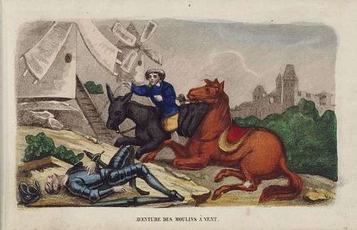 012- Aventura de los molinos de viento-1845