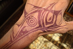 Fish Tattoo... (  VLcX  ) Tags: fish tattoo arm tattoos full tatoo bodyart bonehead fishtattoo