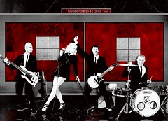 80.No Doubt-Everything in time (Brayan E. Old Flickr) Tags: red no banner doubt gwen diseo esteban stefani blend brayan