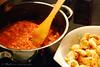 Murgh Makhani - Butter Chicken (Soupflower's Blog) Tags: food chicken kitchen bread recipe 50mm essen nikon rice indian reis homemade butter imadethis küche selfmade brot naan cardamom hühnchen kardamom rezept indisch d80 soupflowers spflwrs