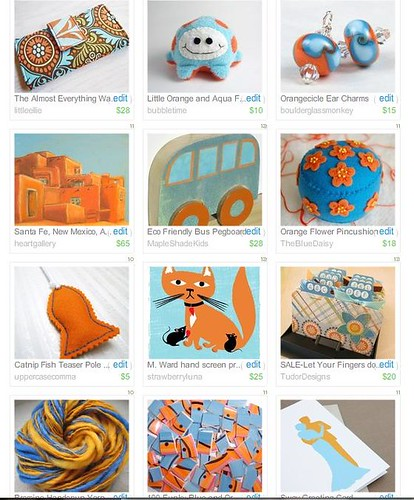 Colors of Etsy Treasury