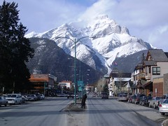 Banff Avenue, CanadianRockies