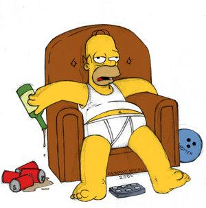 Homer J. Simpson -- American Male Stereotype
