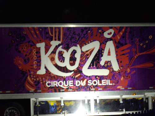 We went to see Kooza!