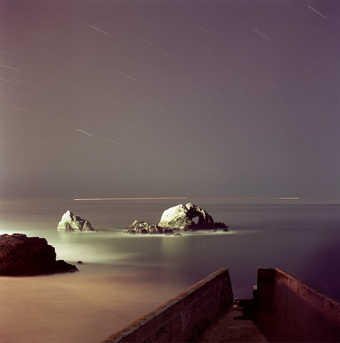 Sutro Baths w/Yashica