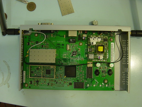 Nortel BAP120 Inside