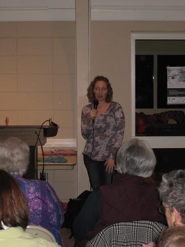 Myself, Speaking at the AKG