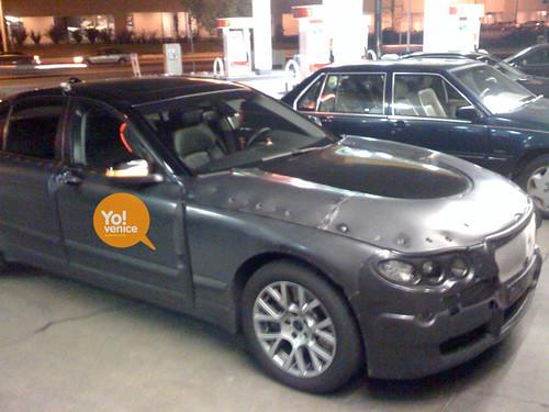 BMW Test Mule Car Spotted ©YoVenice.com