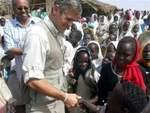 Clooney in Darfur