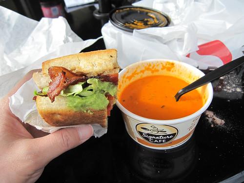 My lunch at CTRL3 (Healdsburg Safeway)