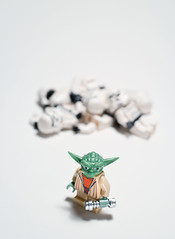A piece of me you seek, yes? (Balakov) Tags: death yoda lego stormtroopers carnage