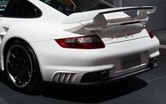 Porsche 911 GT2 (ccdoh1) Tags: desktop wallpaper white sports car canon 50mm prime back background widescreen 911 australia melbourne international exotic porsche 2009 gt2 motorshow 1050 canonef50mmf14usm 1680 40d canoneos40d