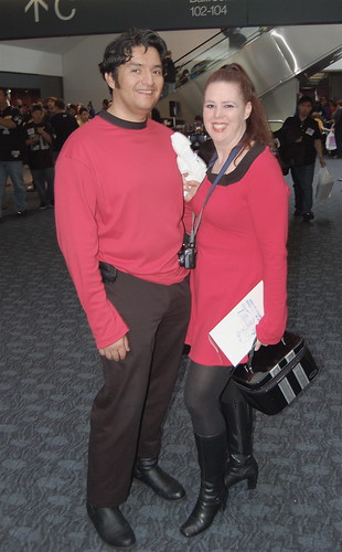 2009 Wonder Con: Redshirt Couple