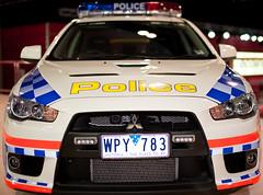 Vic police car (D3 Photography) Tags: show car 50mm nikon f14 sigma melbourne international 2009 d3
