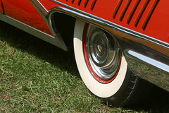 DO YOU REMEMBER THE MAGNIFICENT RED ... (NC Cigany) Tags: show red color classic cars grass car wheel festival proud fun nc buick colorful bright wheels vivid convertible pride nostalgia chrome 1958 whitewall ragtop generalmotors showy hillsboroughnc buicklimited
