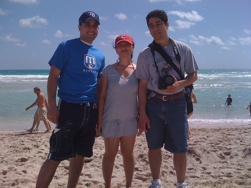 South Beach with the brother and sister-in-law
