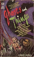 Ghost and Things - Hal Cantor - cover by Powers (Cadwalader Ringgold) Tags: sf fiction science paperback 1960s powers