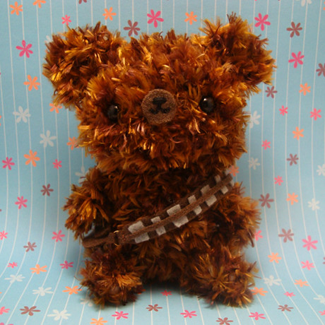 Amigurumi Chewbacca the bear