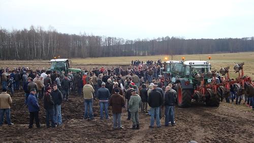 Pokazy polowe, orki - ciągniki, traktory FENDT