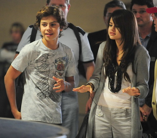 picture of selena gomez parents. Selena Gomez And Co-Star Jake